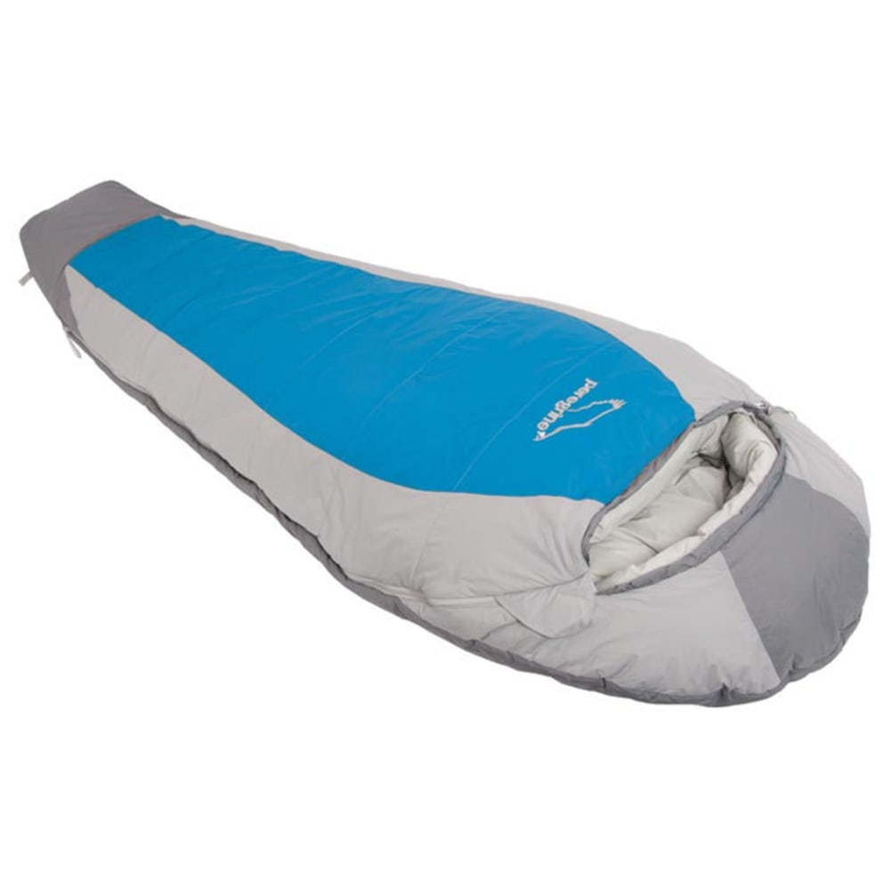 PEREGRINE Saker 0 Degree Synthetic Sleeping Bag, Regular - GREY/BLUE