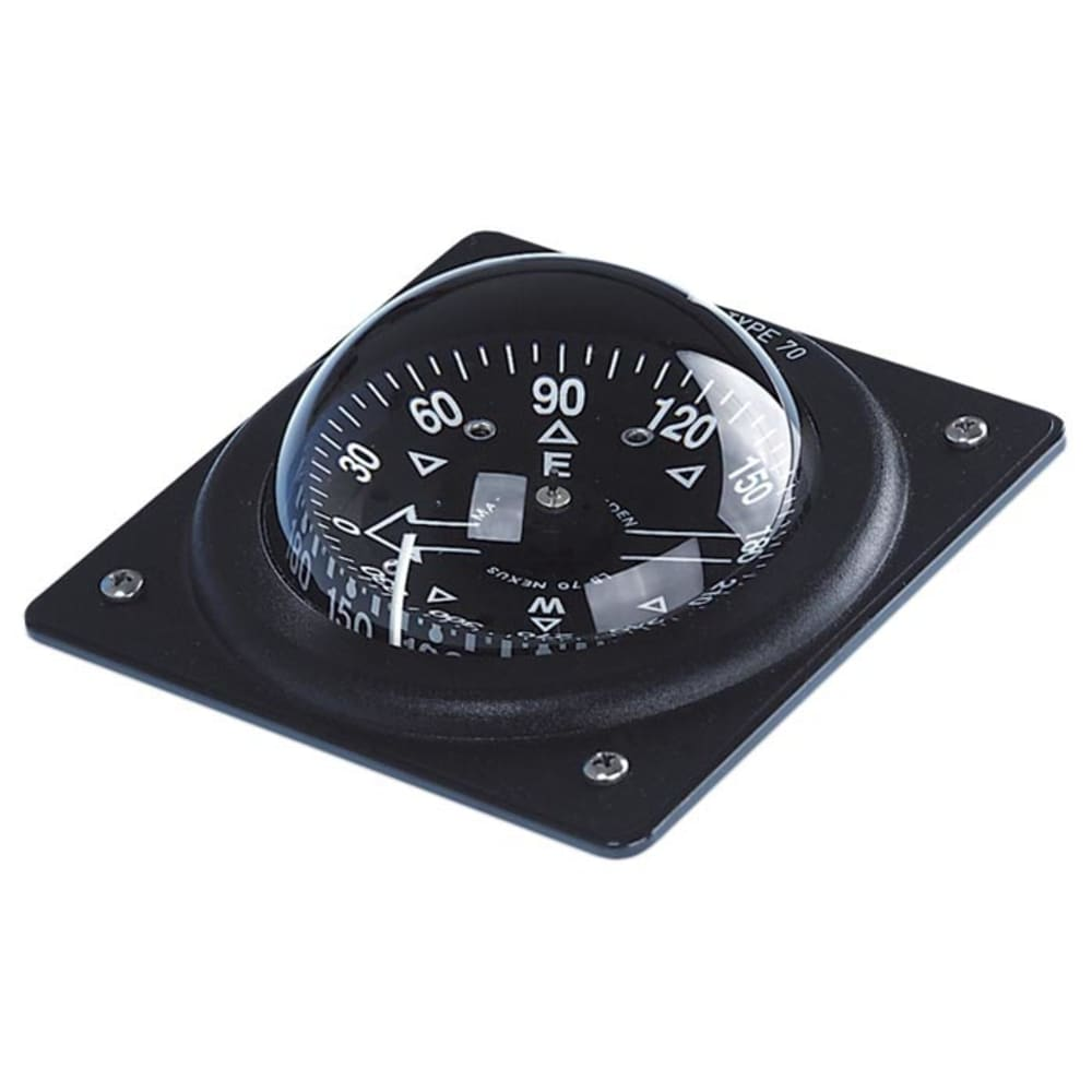 BRUNTON 70P Marine Fixed Mount Compass - BLACK