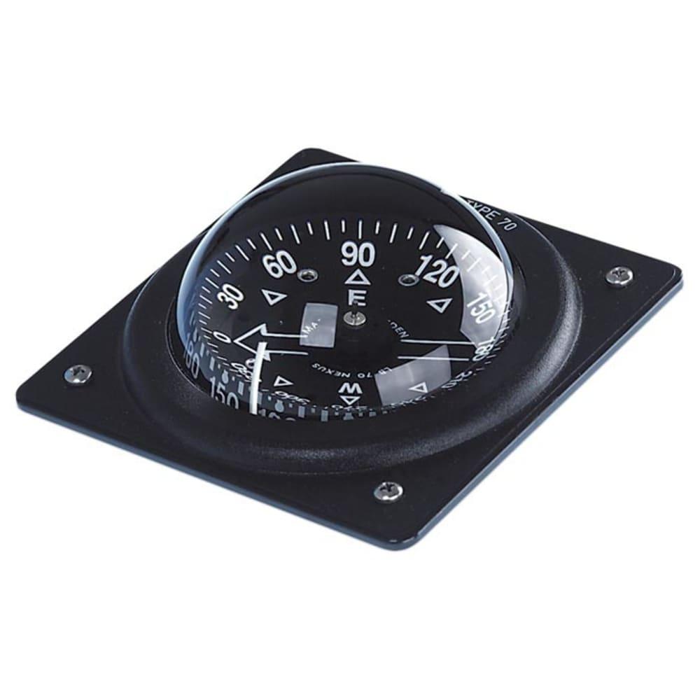 Brunton 70p Marine Fixed Mount Compass - Black
