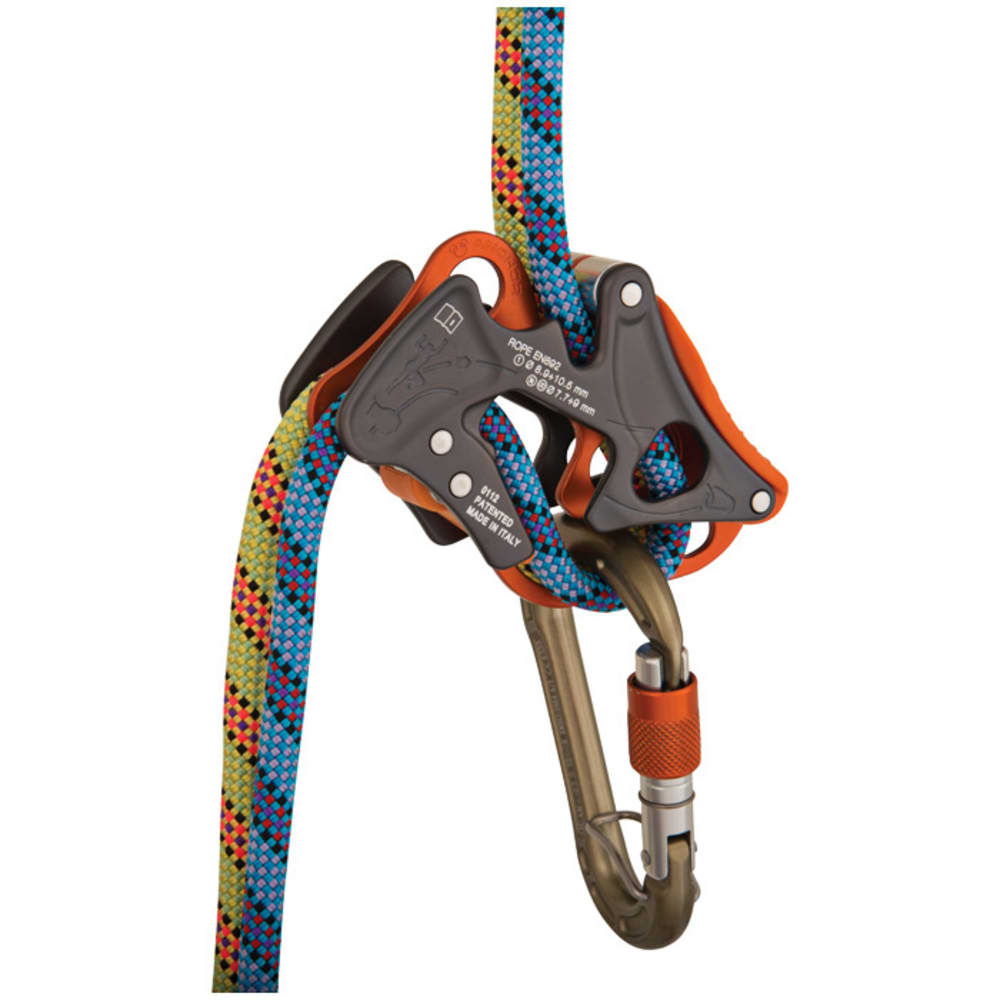 CLIMBING TECHNOLOGY Alpine-Up Belay Device + HMS - GREY