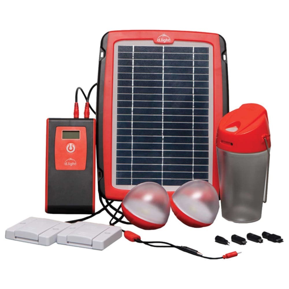 D. LIGHT D20 Solar Home System - RED