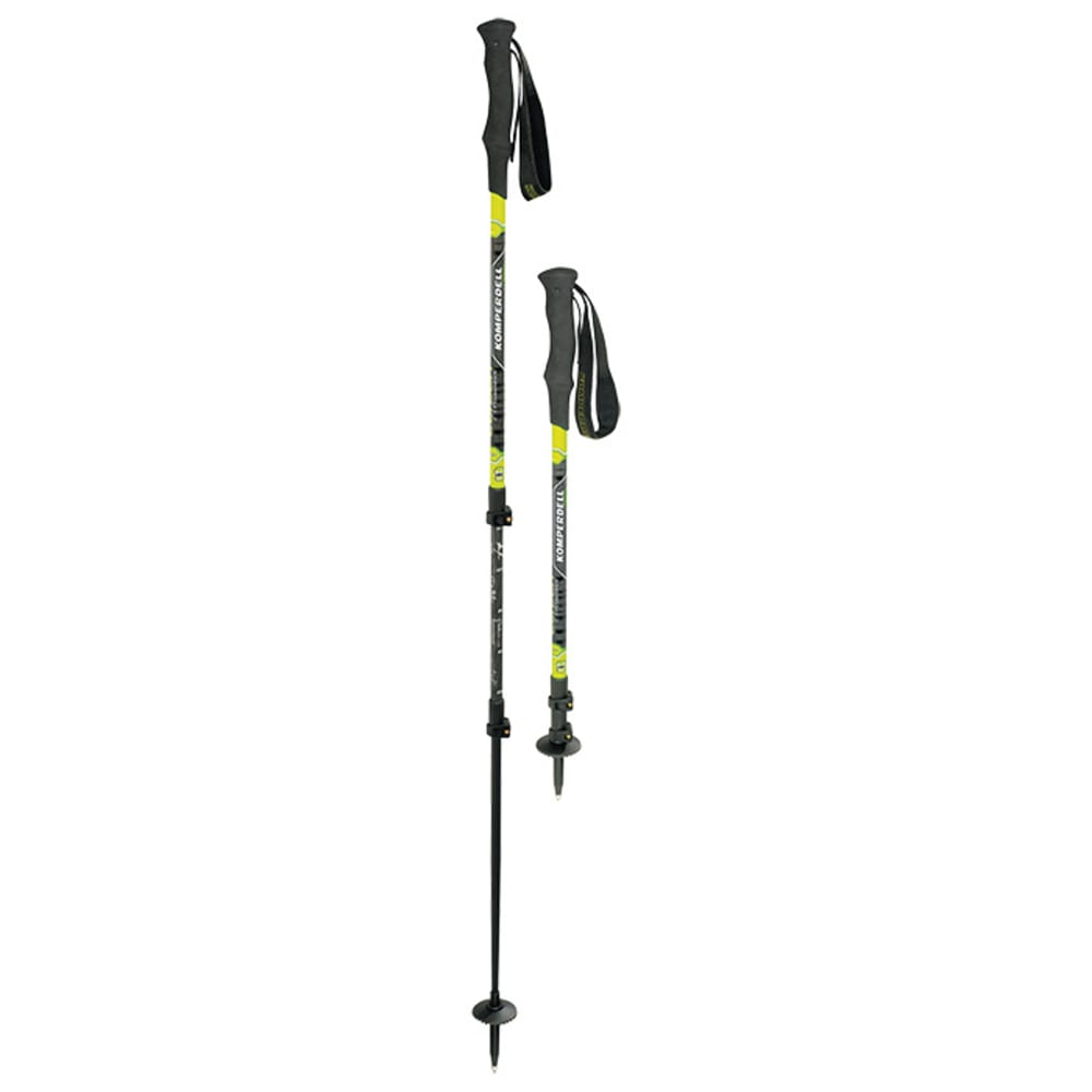 KOMPERDELL C3 Carbon Powerlock Pole - BLACK