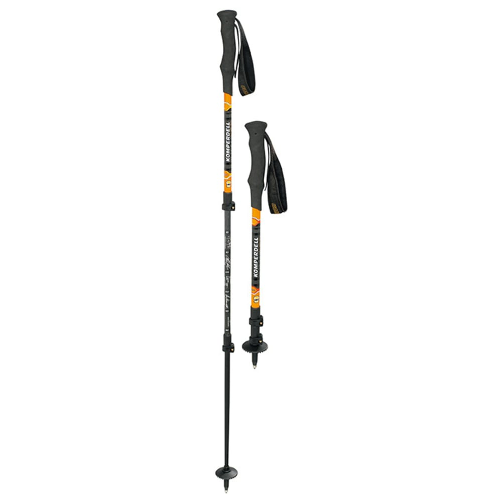 KOMPERDELL C3 Carbon Powerlock Compact Pole - BLACK