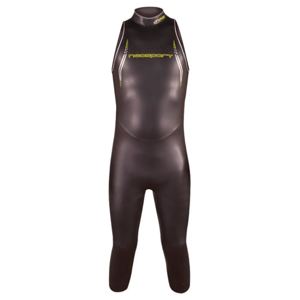 NEOSPORT 5/3mm NRG Triathlon Men's Sleeveless Wetsuit - BLACK
