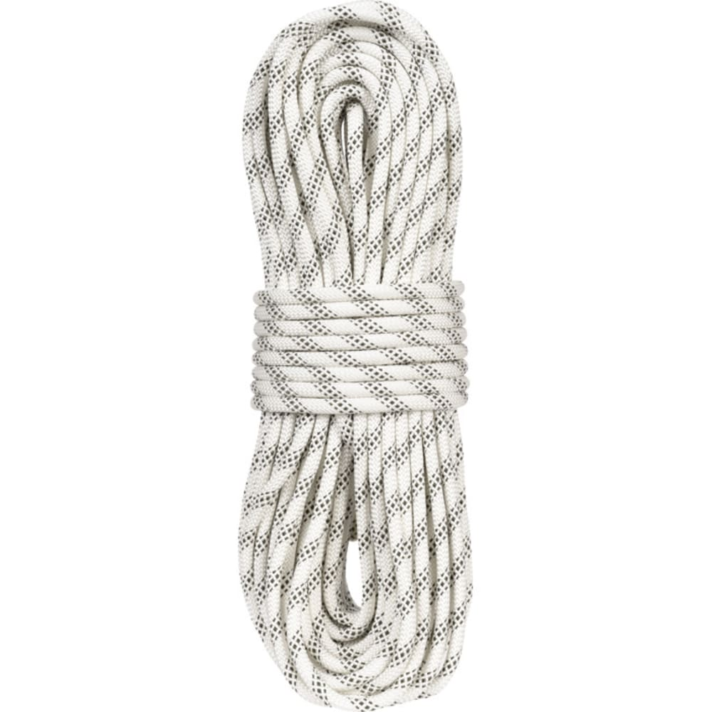 "LIBERTY MOUNTAIN PRO ABC Polyester Static 3/8"" x 150' Rope, White - WHITE"