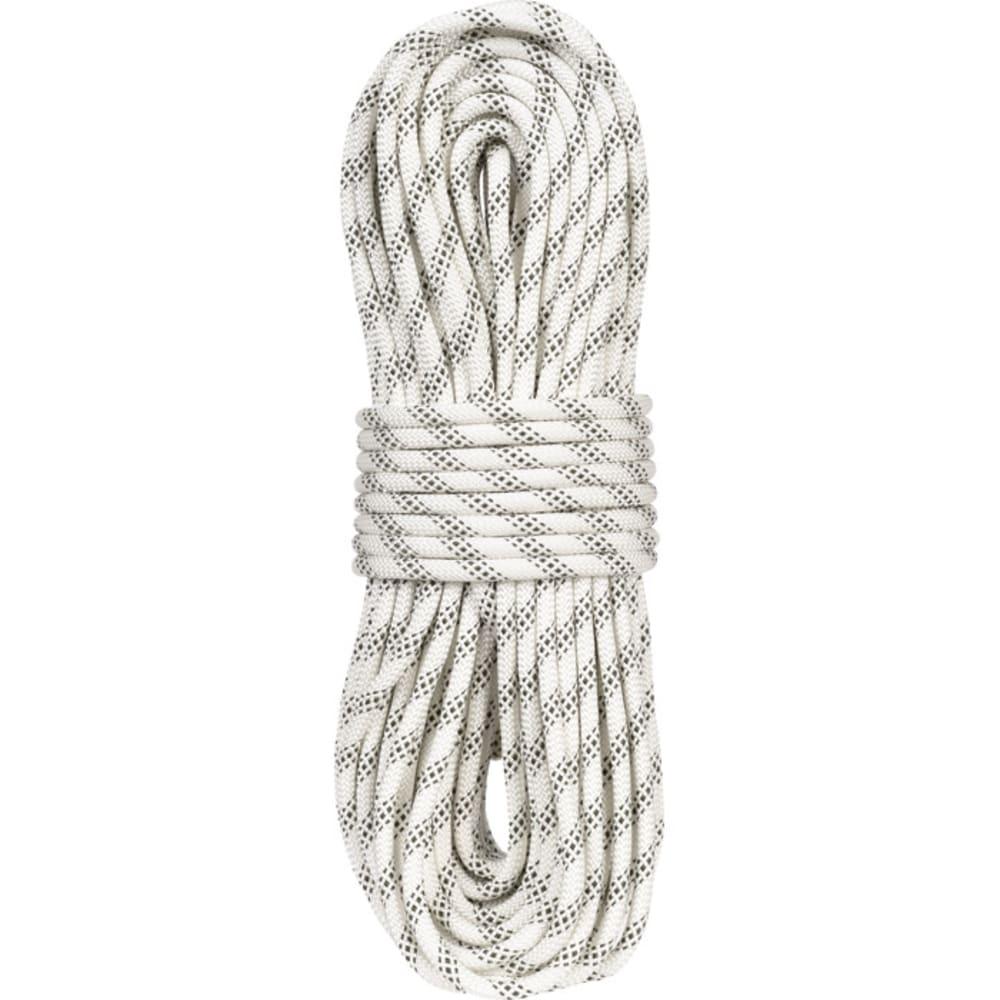 LIBERTY MOUNTAIN PRO ABC Polyester Static 3/8€ x 200' Rope, White - WHITE