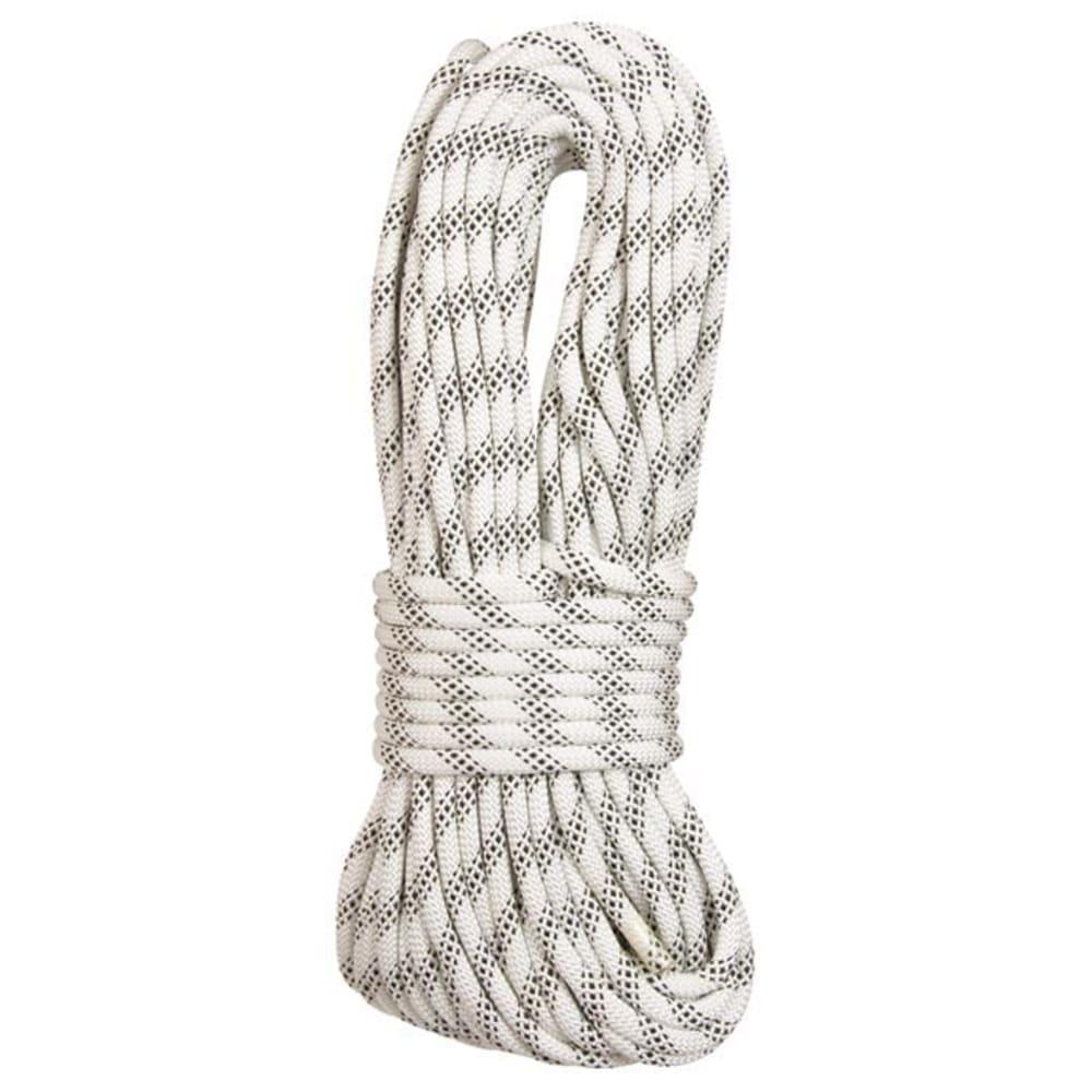 """LIBERTY MOUNTAIN PRO ABC Polyester Static 5/8"""" x 200' Rope, White - WHITE"""