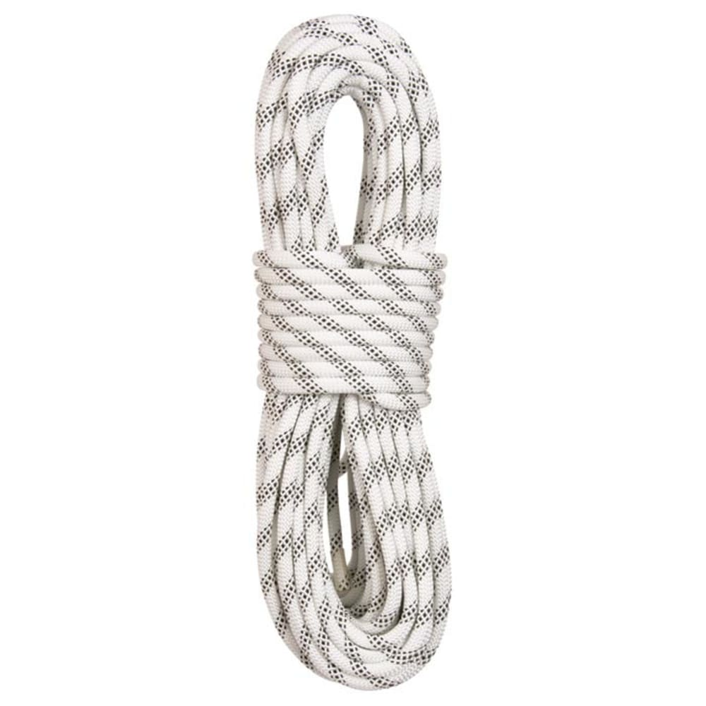 "LIBERTY MOUNTAIN PRO ABC Polyester Static 7/16"" x 150' Rope, White - WHITE"