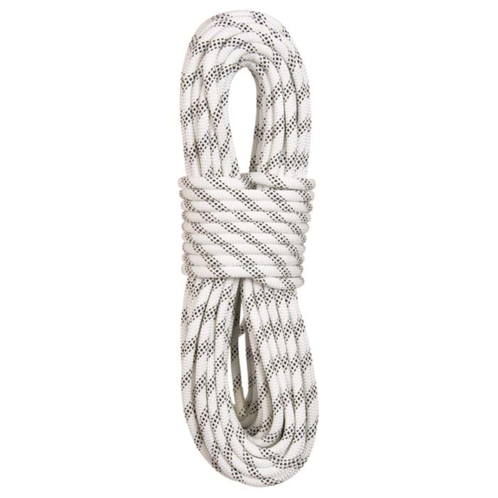 """LIBERTY MOUNTAIN PRO ABC Polyester Static 7/16"""" x 150' Rope, White - WHITE"""