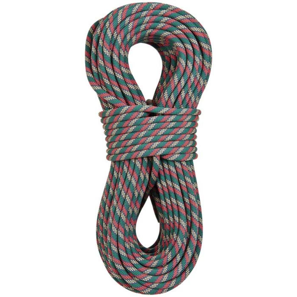 LIBERTY MOUNTAIN PRO Python Dynamic 11mm x 50m Rope - GREEN/WHITE/RED