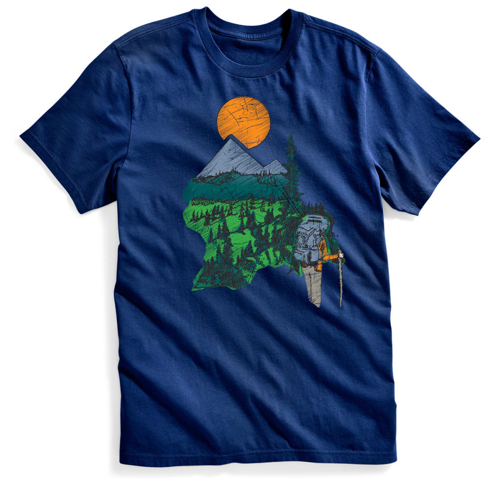 EMS® Men's Walkabout Graphic Tee - BLUE DEPTHS