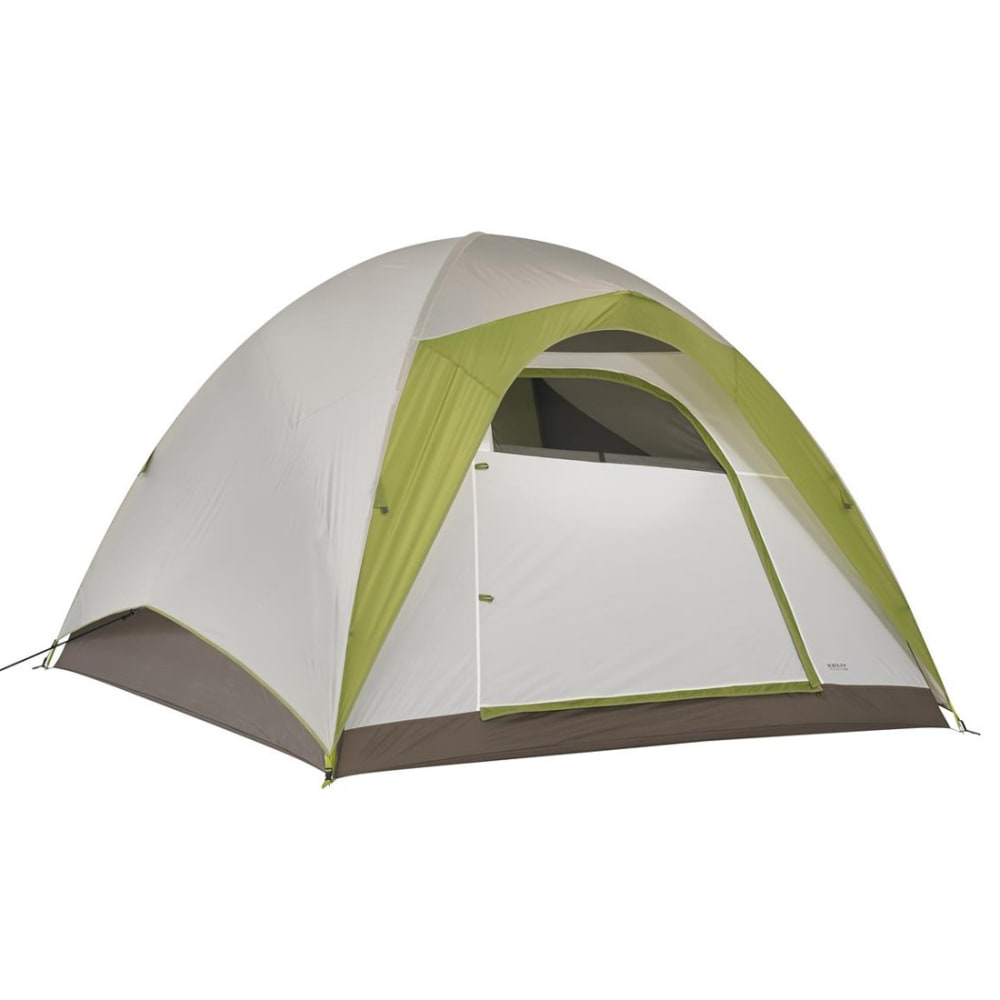 KELTY Yellowstone 6 Tent - WHITE/GREEN