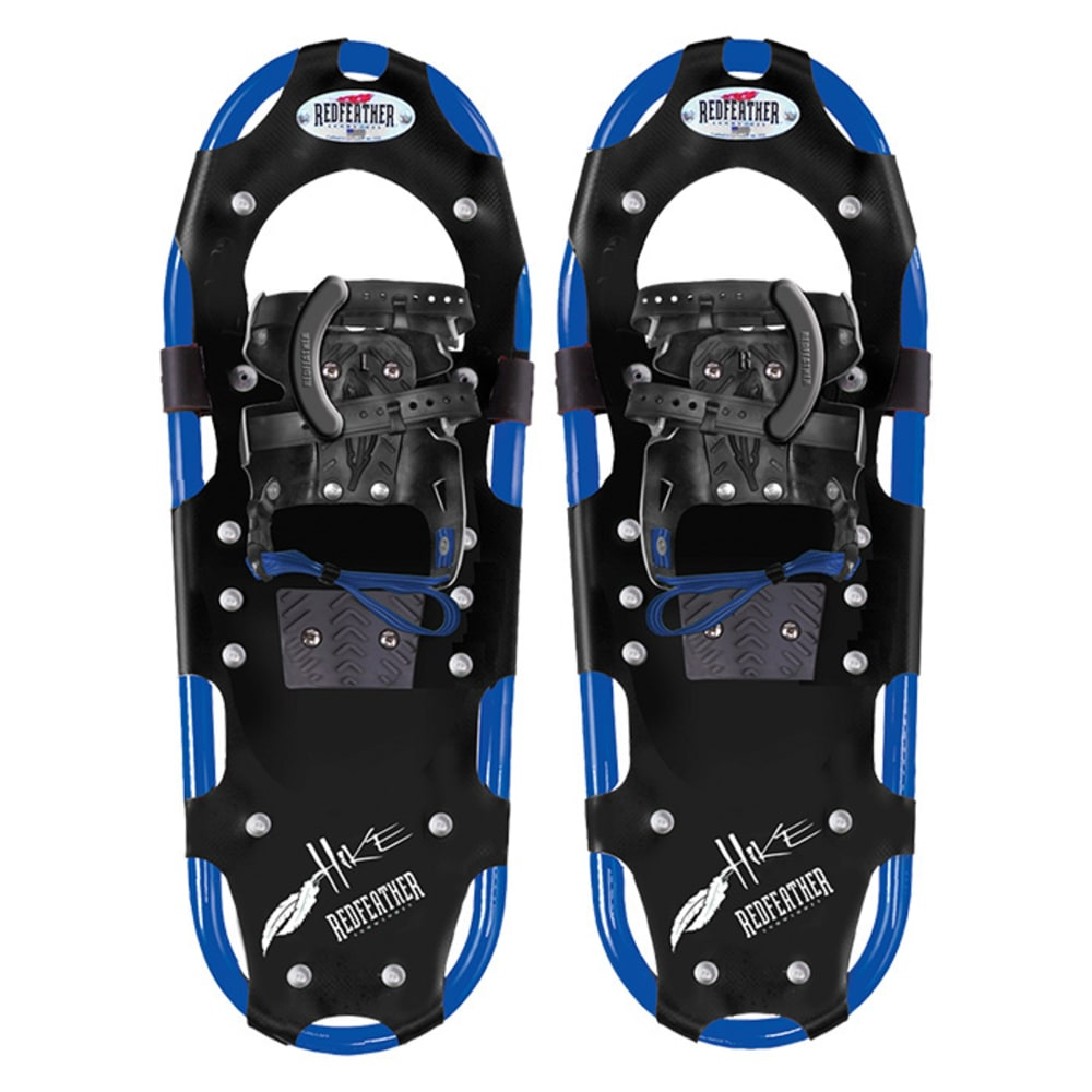 "REDFEATHER Hike Series 8"" x 25"" Snowshoes - BLACK/BLUE"
