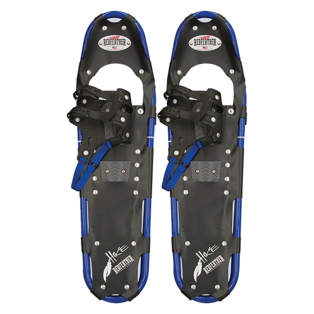 "REDFEATHER Hike Series 9.5"" x 36"" Snowshoes - BLACK/BLUE"