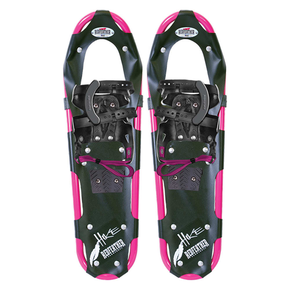 """REDFEATHER Hike Series 7.5"""" x 22"""" Women's Snowshoes - BLACK/PINK"""