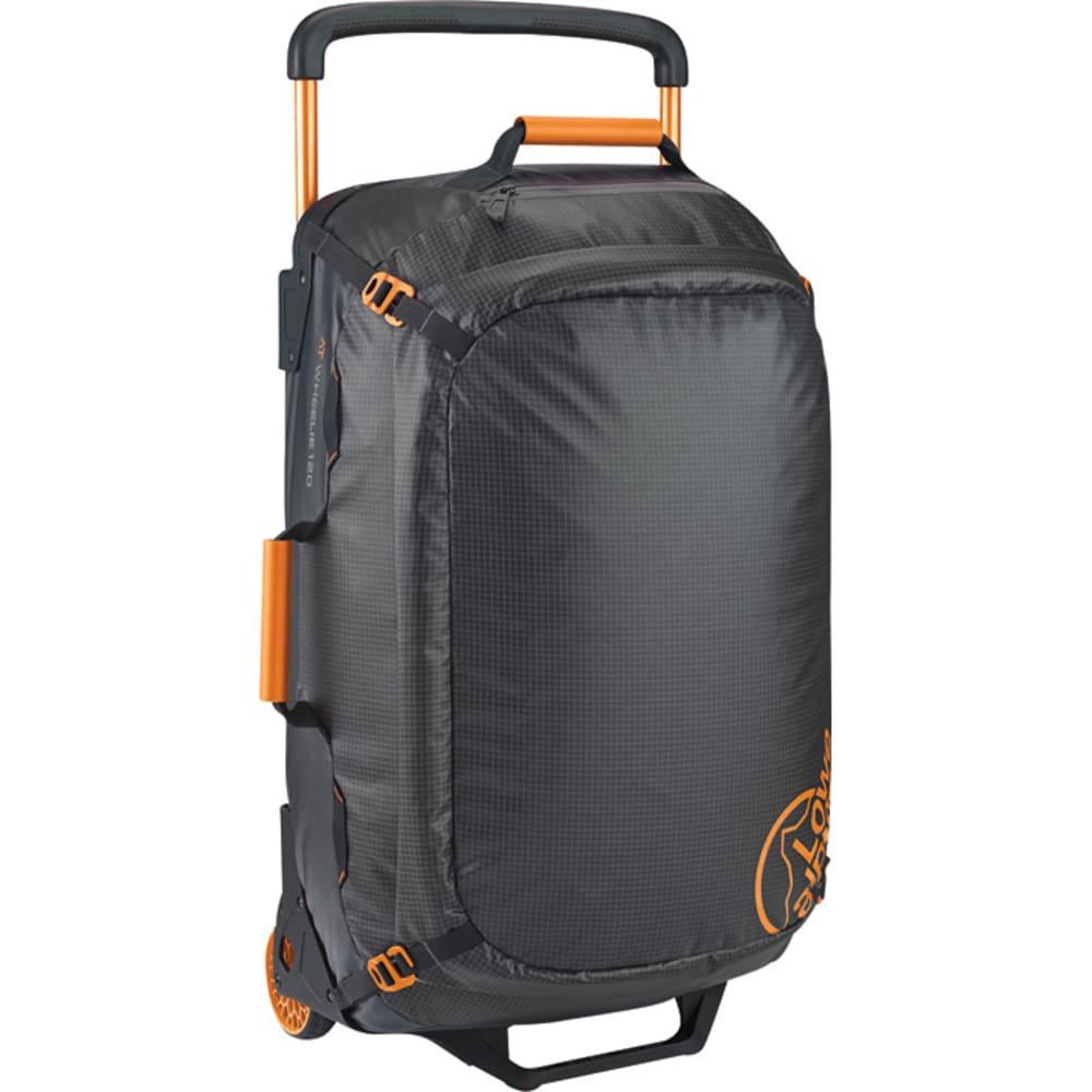 LOWE ALPINE AT Wheelie 120 Duffel Bag - ANTHRACITE/TANGERINE