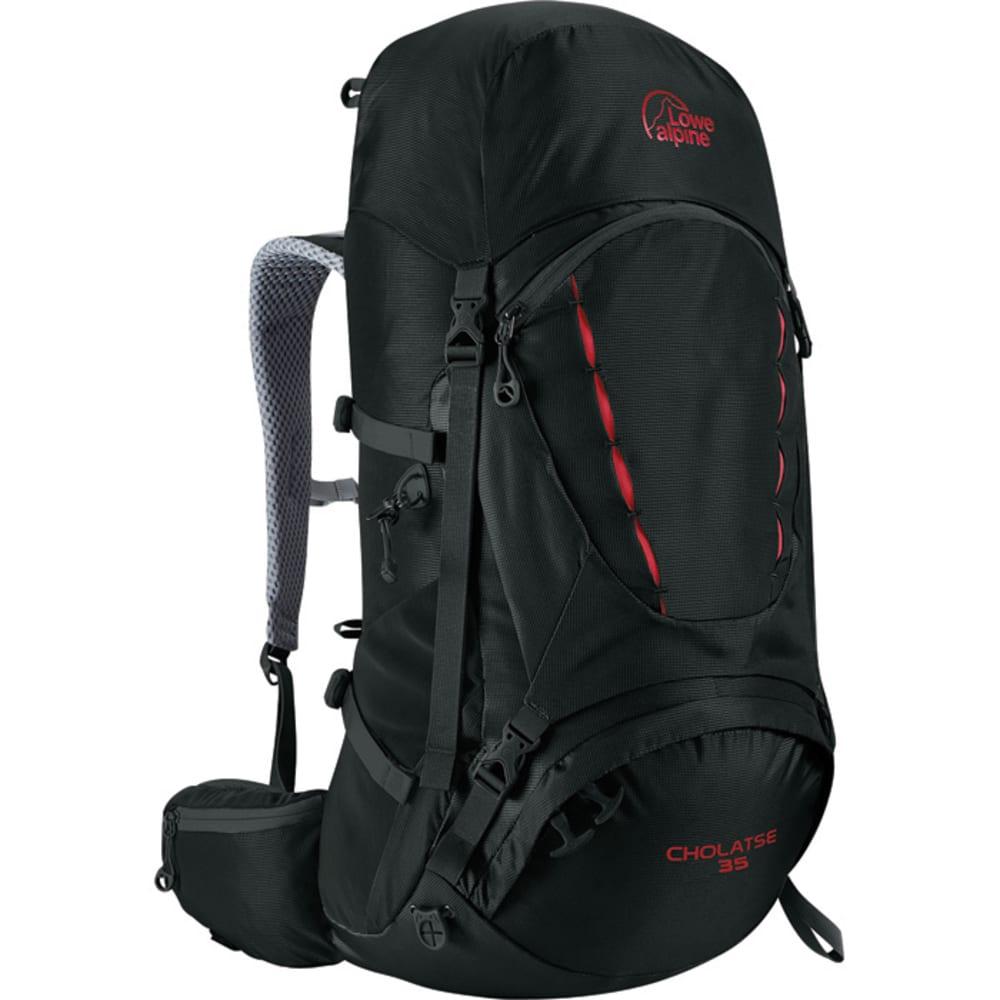 LOWE ALPINE Cholatse 35 Backpack - BLACK/DARK SLATE