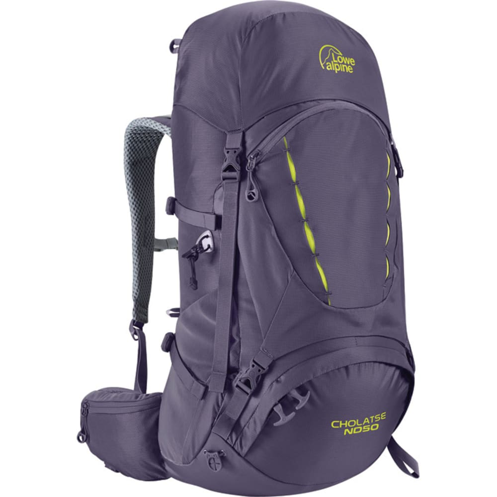 LOWE ALPINE Cholatse ND50 Women's Backpack - AUBERGINE/BLUE PRINT