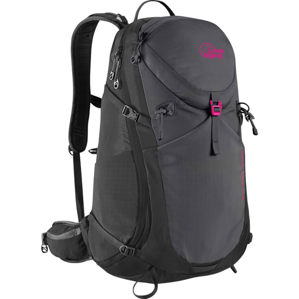 LOWE ALPINE Eclipse ND22 Women's Backpack - ANTHRACITE/ANTRACITE