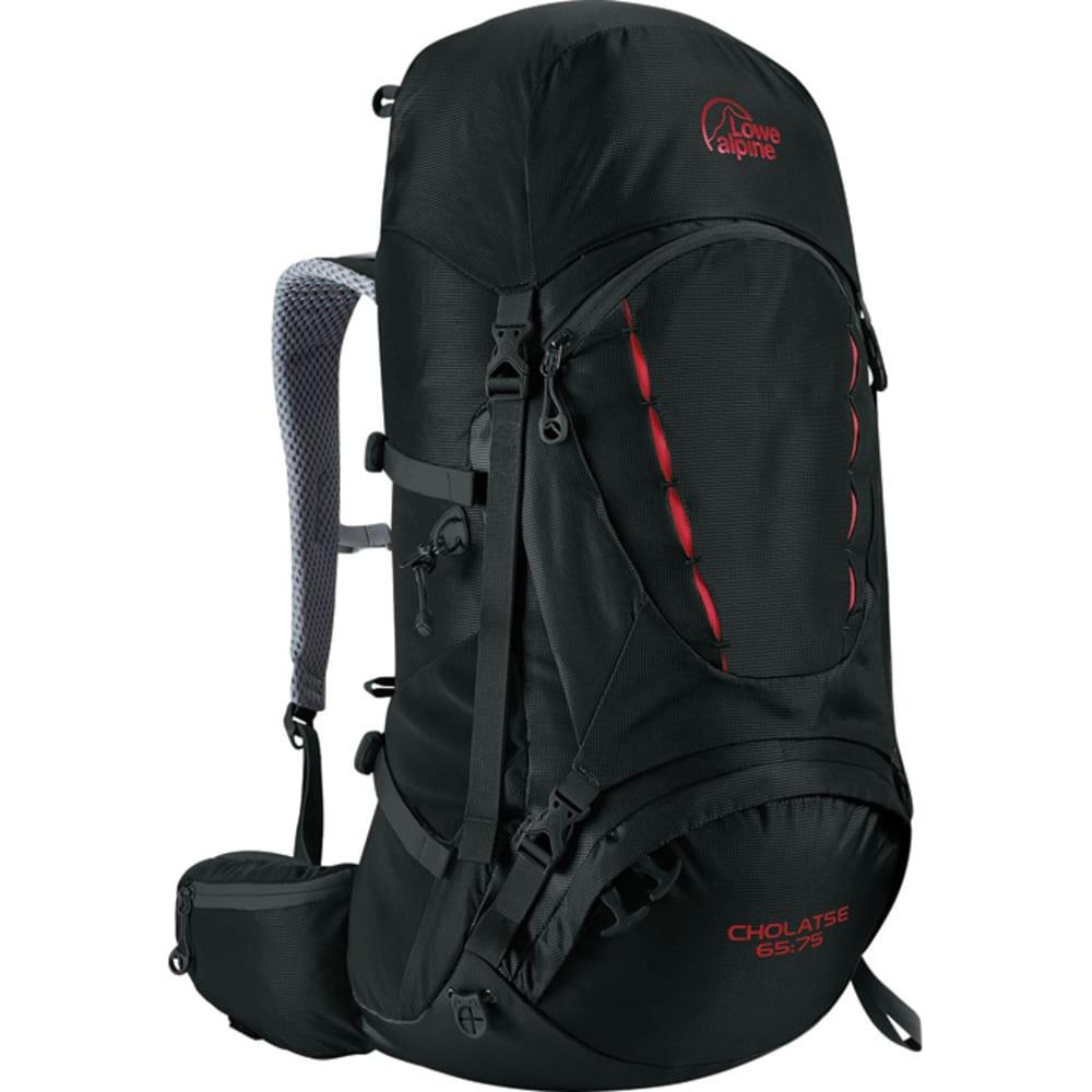 LOWE ALPINE Cholatse 65:75 Backpack - BLACK/DARK SLATE