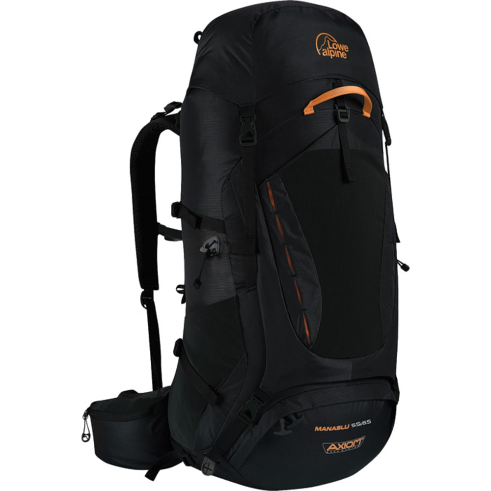 LOWE ALPINE Manaslu 55:65 Backpack  - BLACK