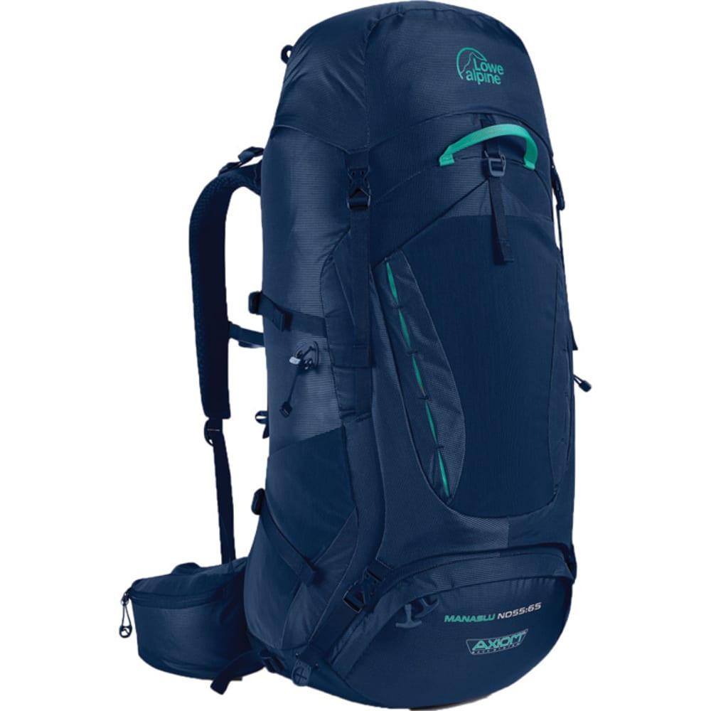 LOWE ALPINE Manaslu ND55:65 Women's Backpack - BLUE PRINT