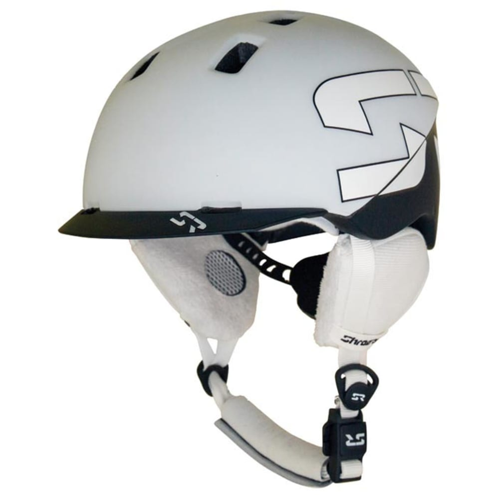 SHRED READY Eleven Helmet, Large - BLACK/WHITE