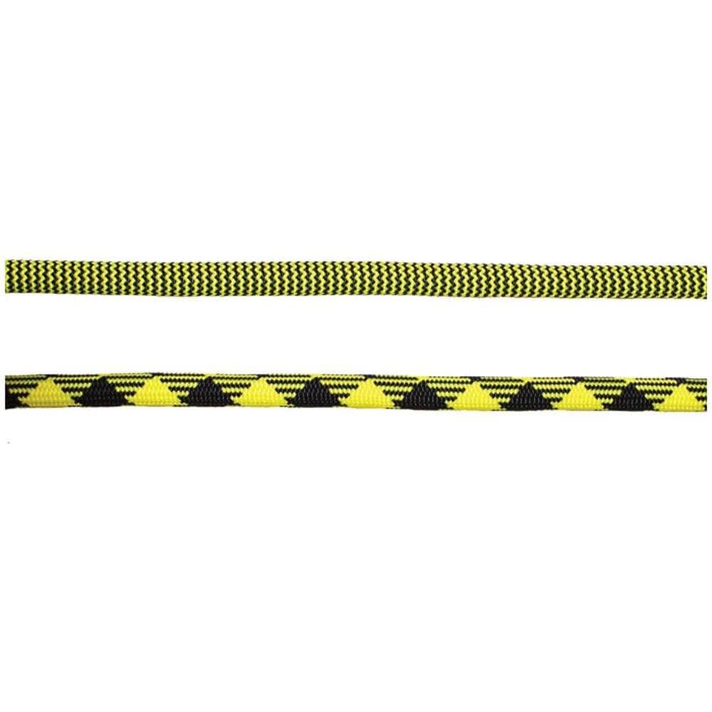 NEW ENGLAND ROPES Pinnacle Bi 9.5mm x 80m Rope, YJ 2X Dry - YELLOW JACKET