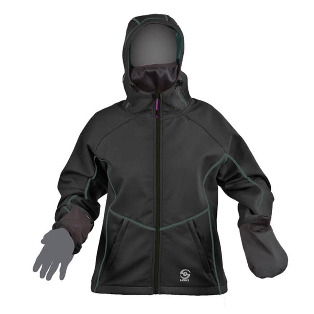 LOKI Women's Mountain Jacket - BLACK