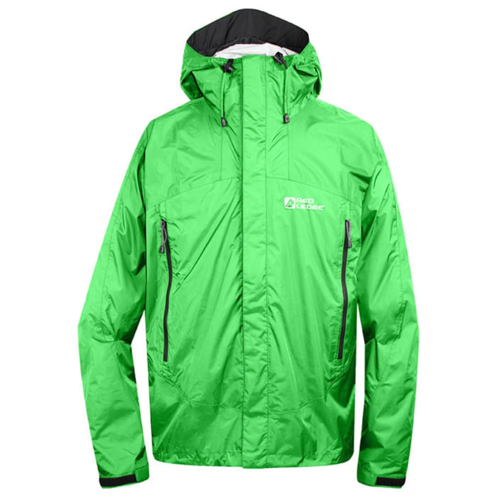 RED LEDGE Men's Free Rain Jacket - GREEN