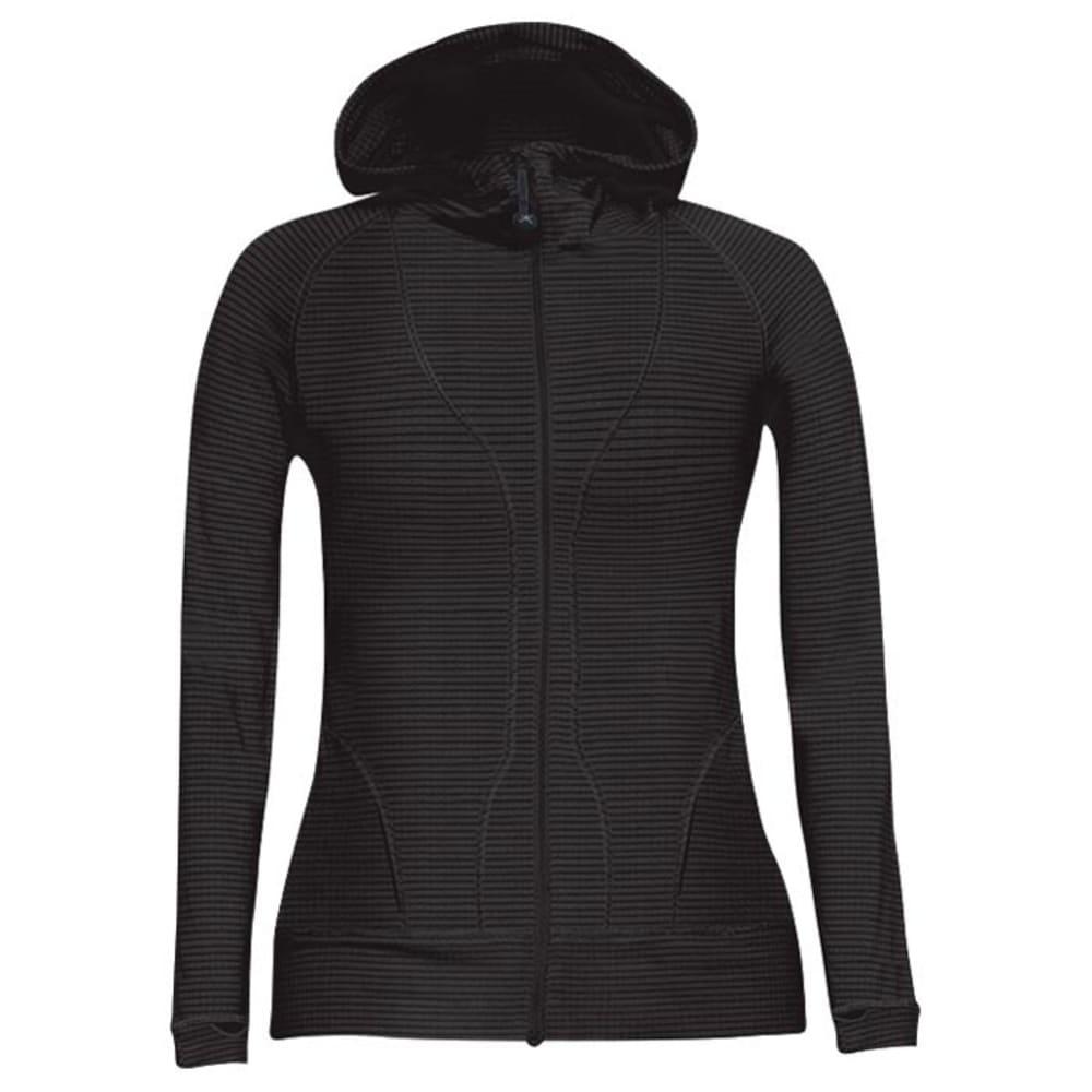 TERRAMAR Geo Fleece Women's Jacket - BLACK