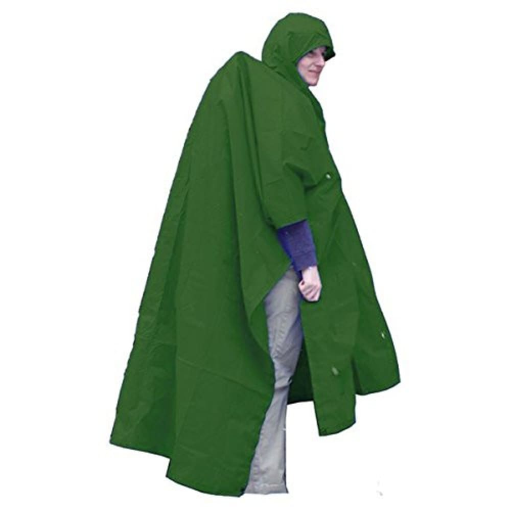 EQUINOX Ultralite Poncho, Extension - GREEN