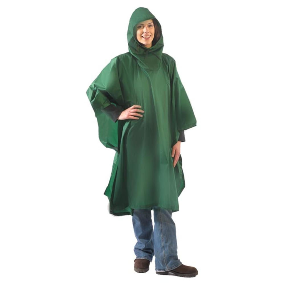 EQUINOX Ultralite Poncho, Regular - GREEN