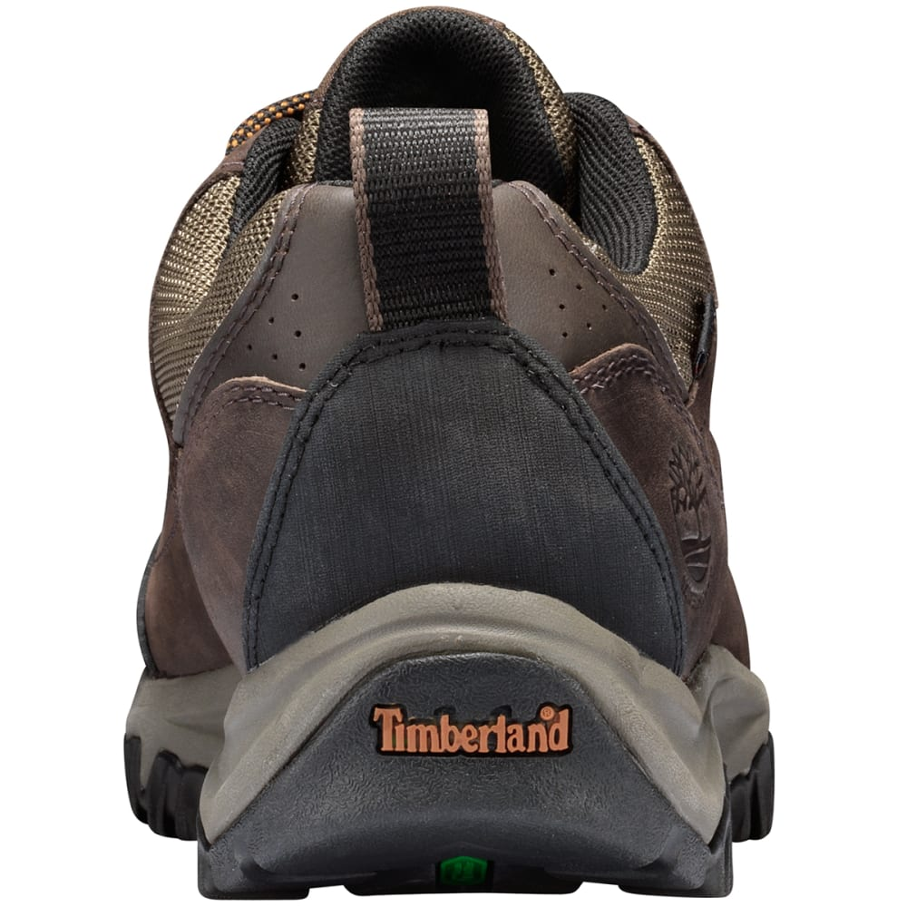 TIMBERLAND Men's Bridgeton WP Low Hiking Shoes - DARK BROWN