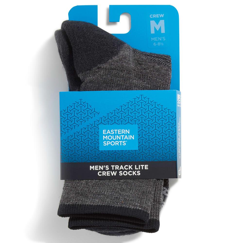 EMS Men's Track Lite 3/4 Crew Socks - EBONY 07078