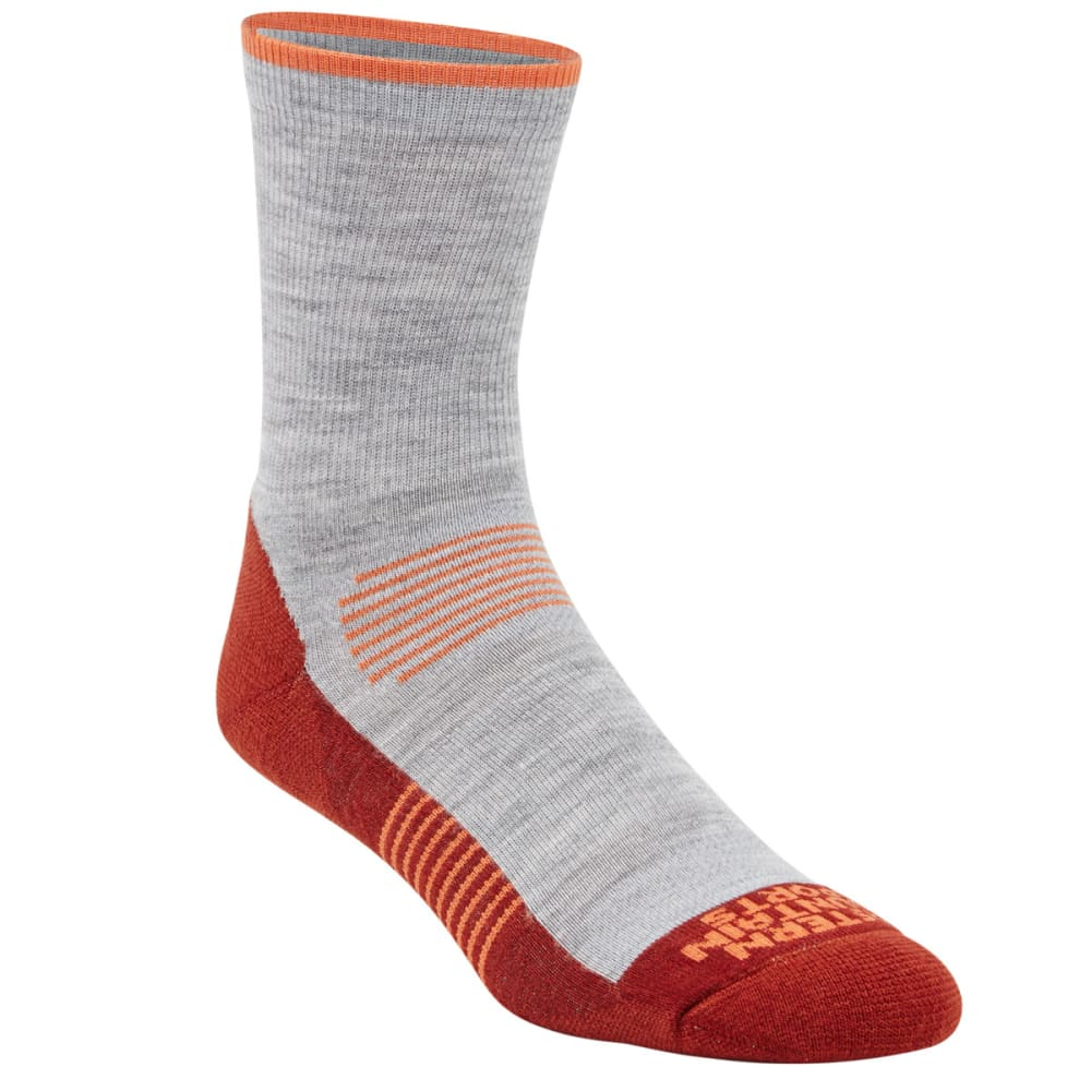 EMS® Men's Track Lite ¾ Crew Socks - FIRED BRICK 03668