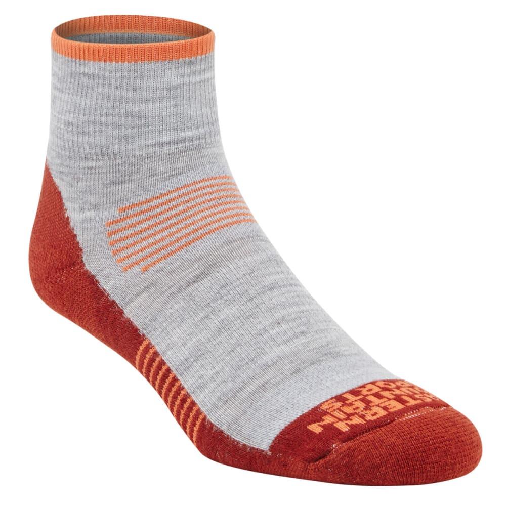 EMS® Men's Track Lite Quarter Socks - FIRED BRICK 03668