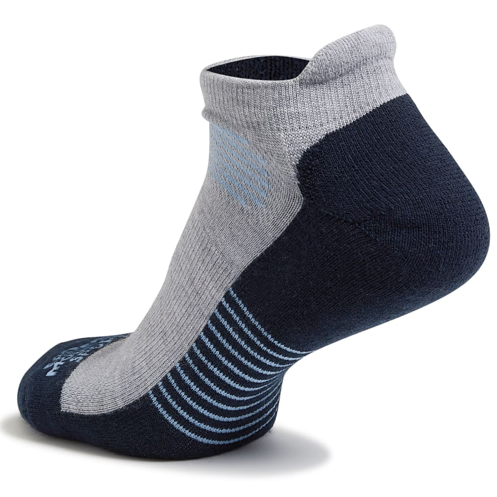 EMS Men's Track Lite Tab Ankle Socks - DENIM BLUE