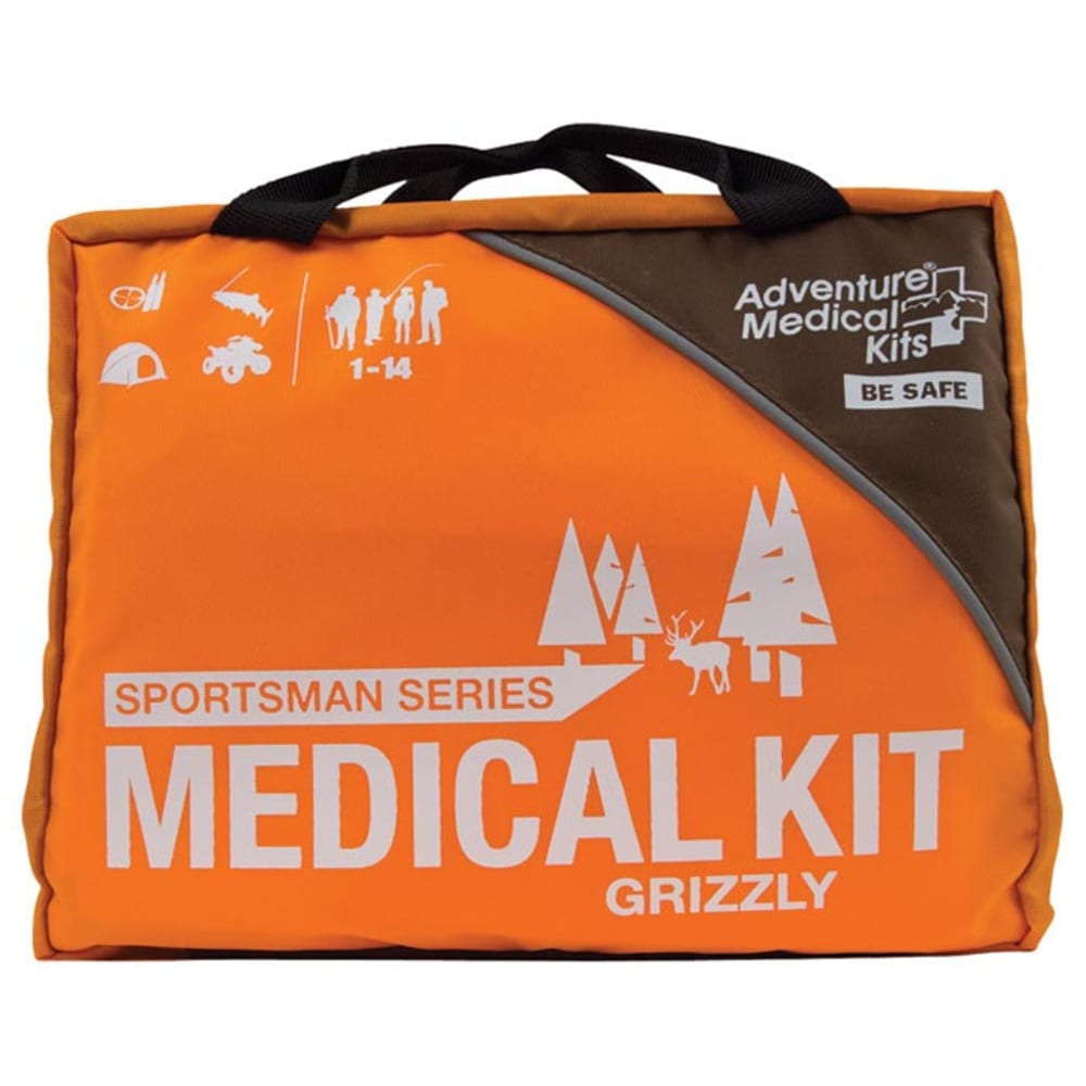 ADVENTURE MEDICAL Sportsman Grizzly Kit - ORANGE