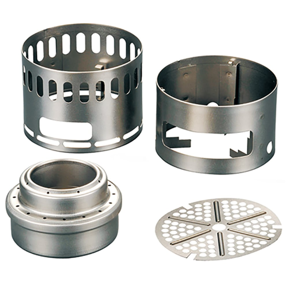 EVERNEW Titanium Stove DX Set - NO COLOR