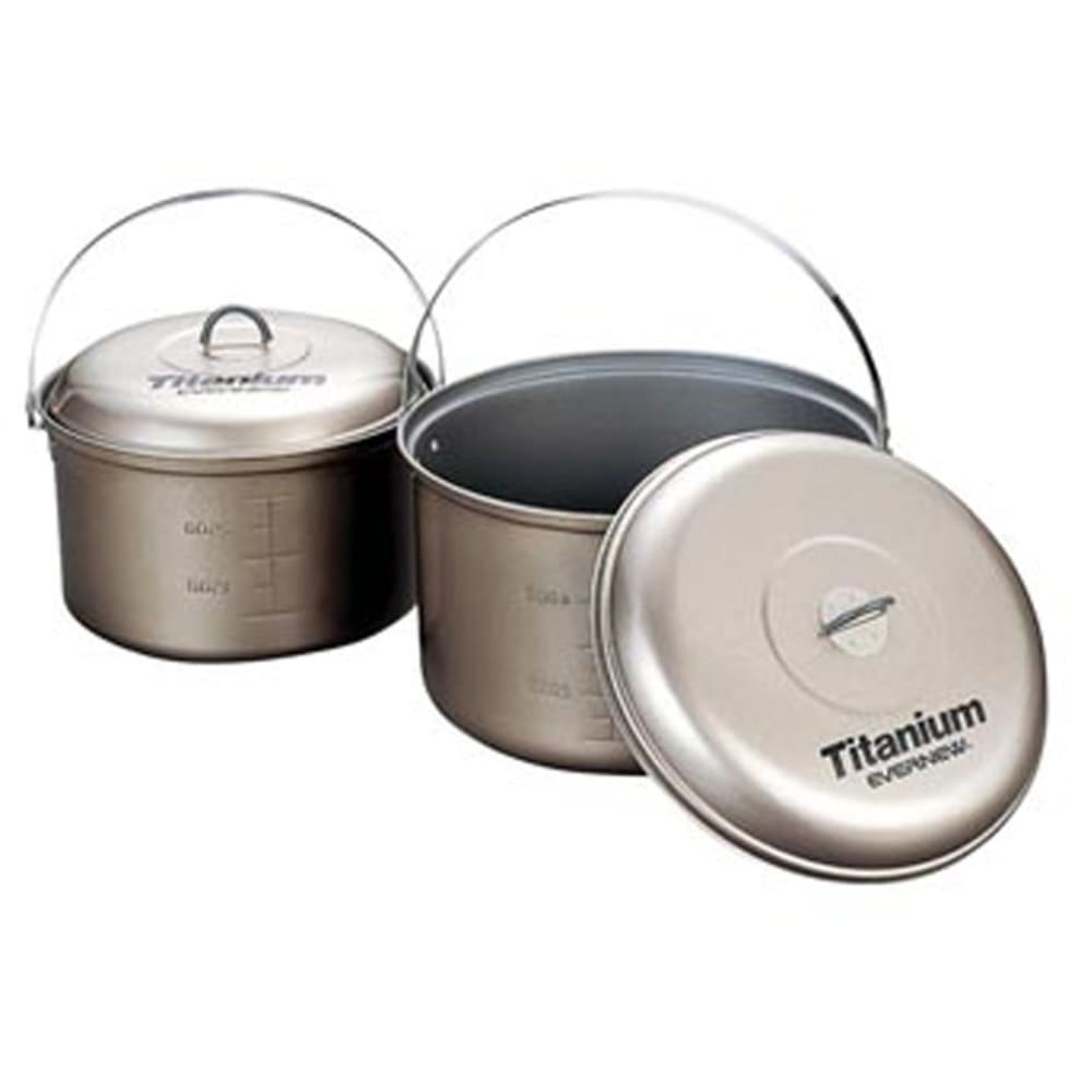 EVERNEW Titanium Non-Stick 4.0L Pot with Handle - NO COLOR