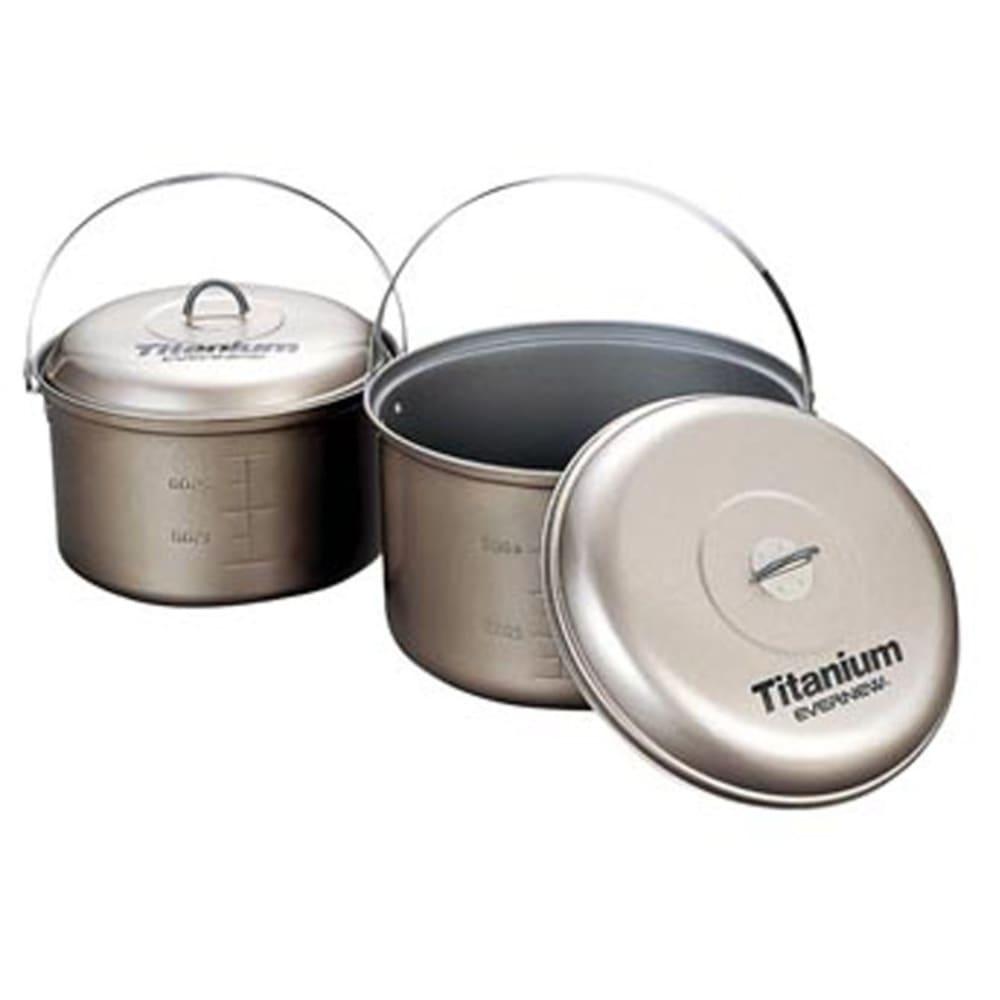 EVERNEW Titanium Non-Stick 4.0L Pot with Handle - NO COLOR