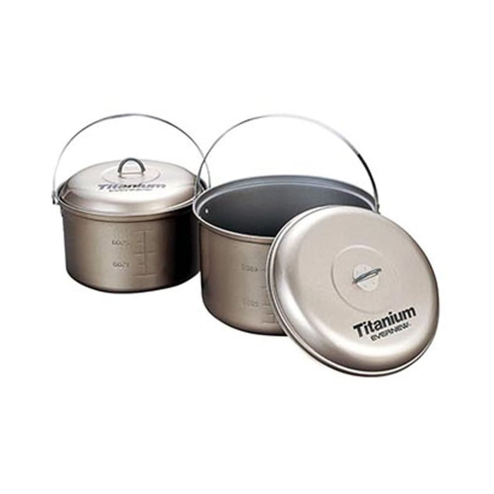 EVERNEW Titanium Non-Stick 5.8L Pot with Handle - NO COLOR