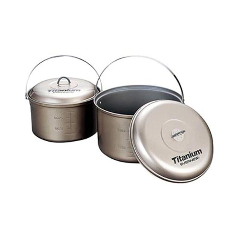EVERNEW Titanium Non-Stick 5.8L Pot with Handle - NO COLOR