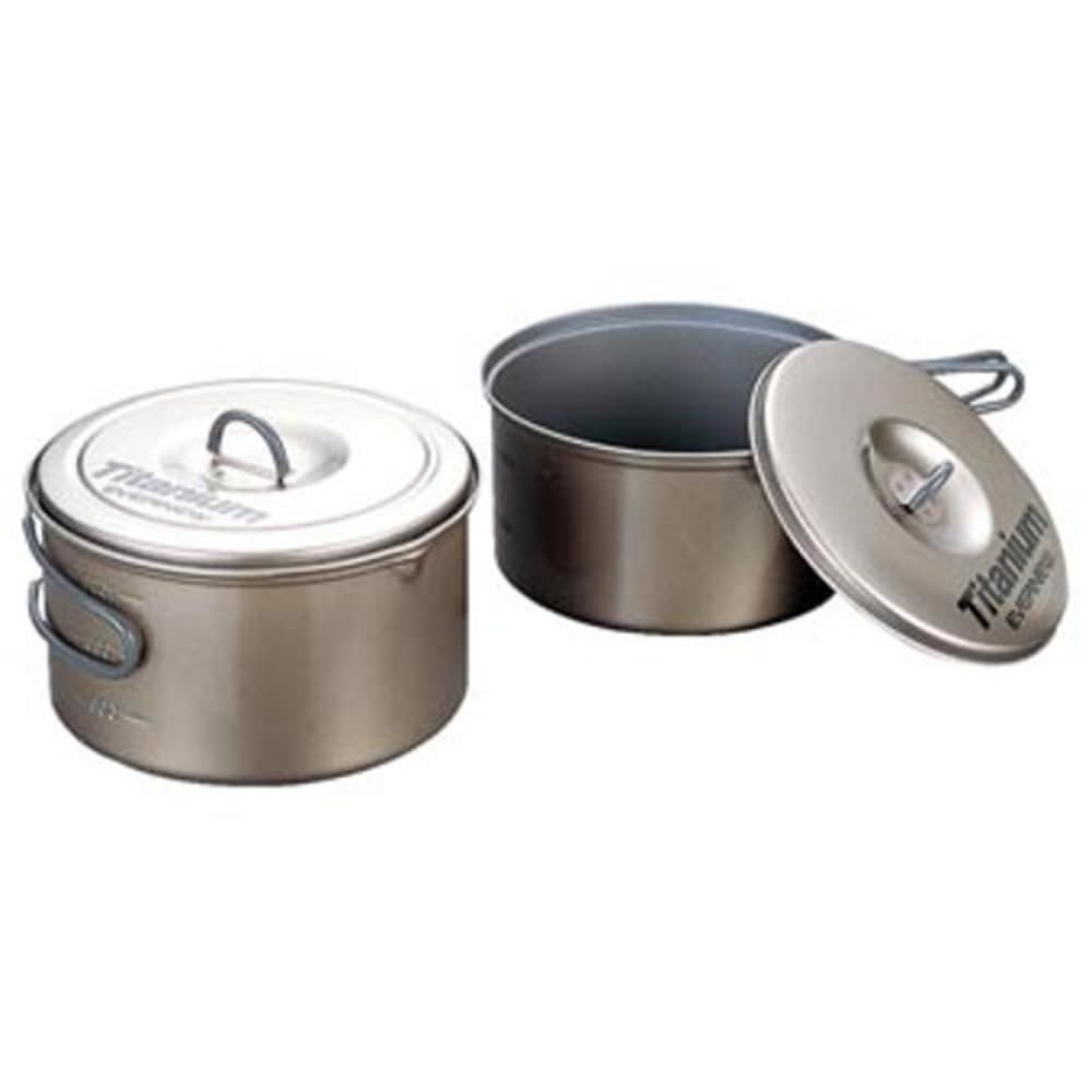 EVERNEW Titanium Non-Stick Large Pot Set - NO COLOR