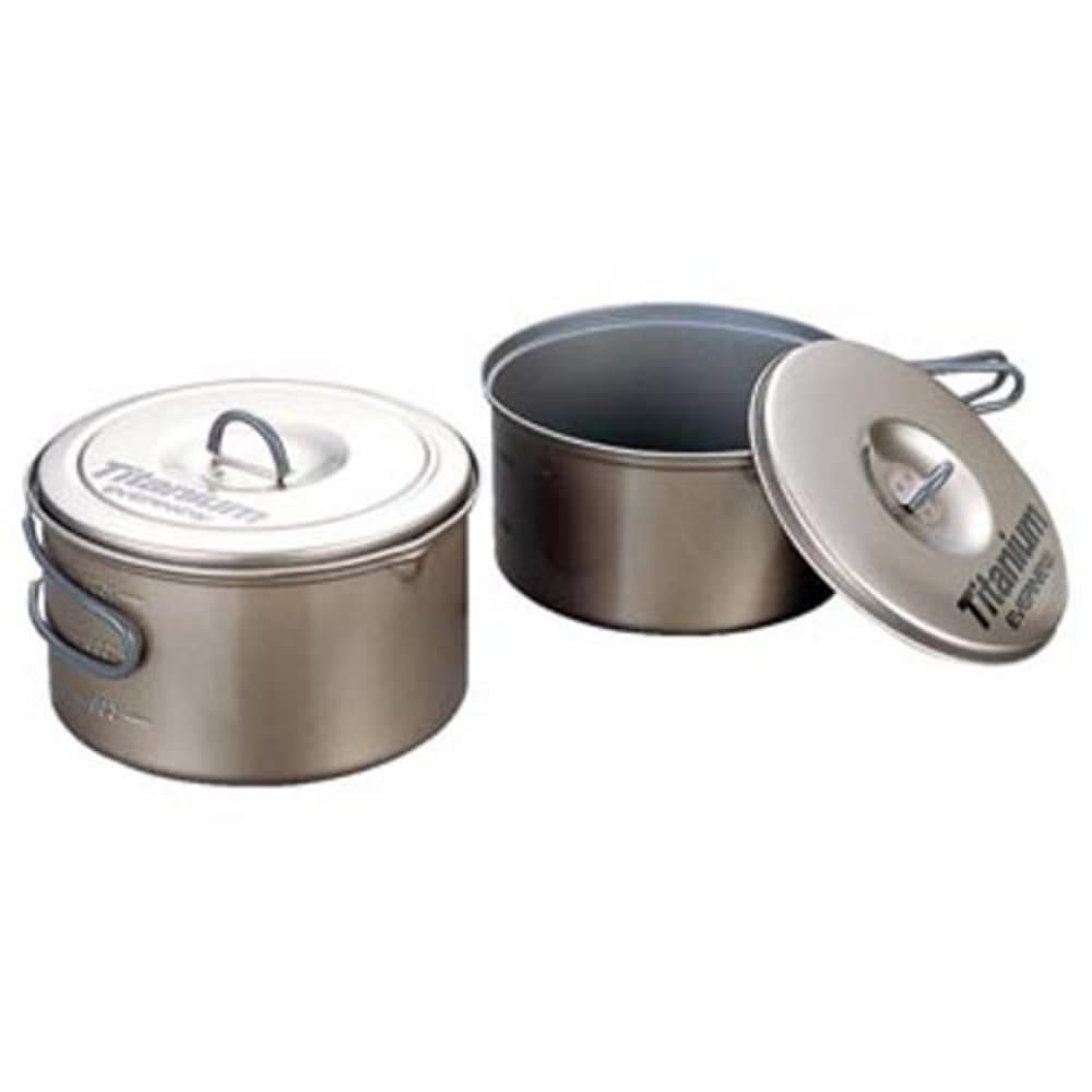 EVERNEW Titanium Non-Stick Large Pot Set - NO COLOR