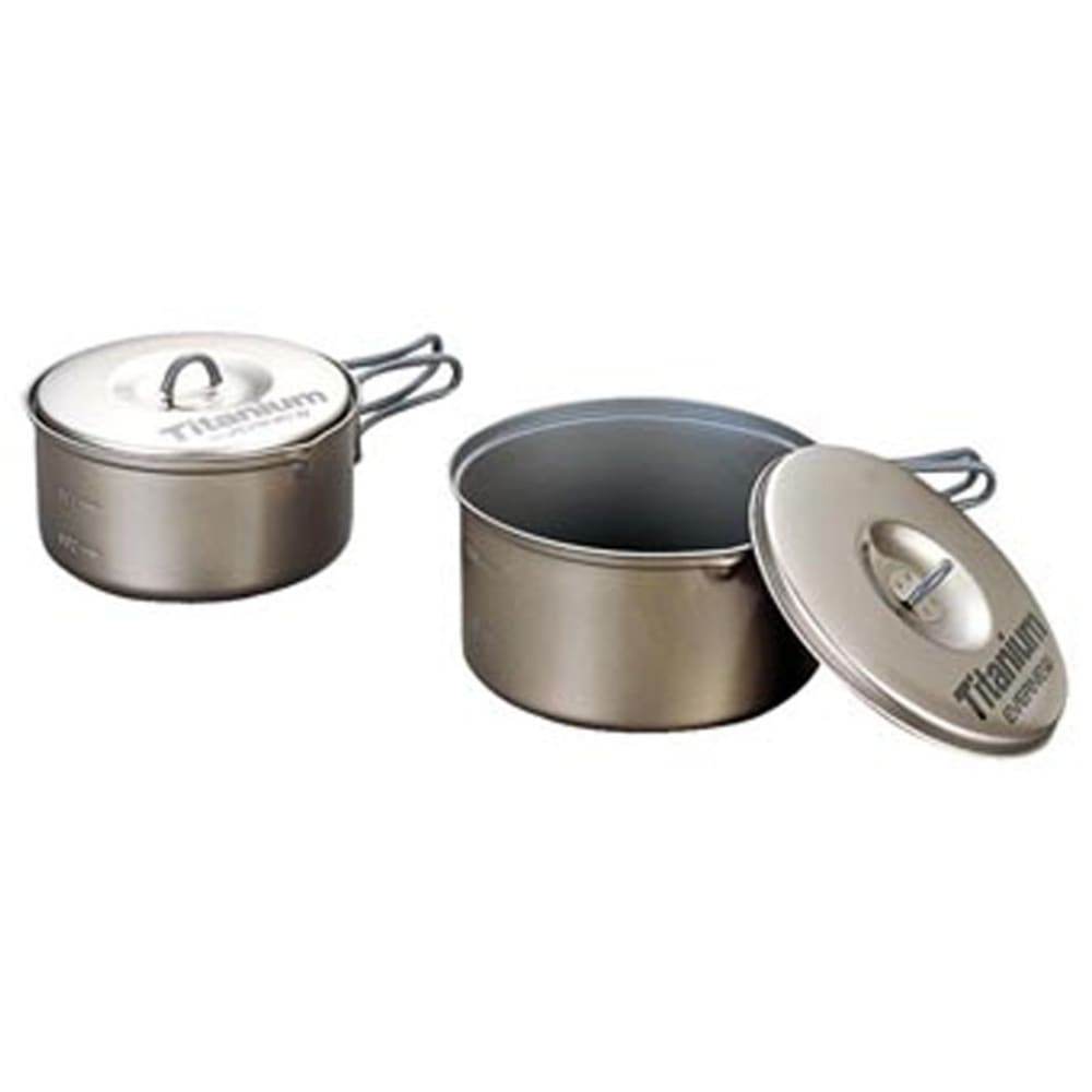 EVERNEW Titanium Non-Stick Medium Pot Set M