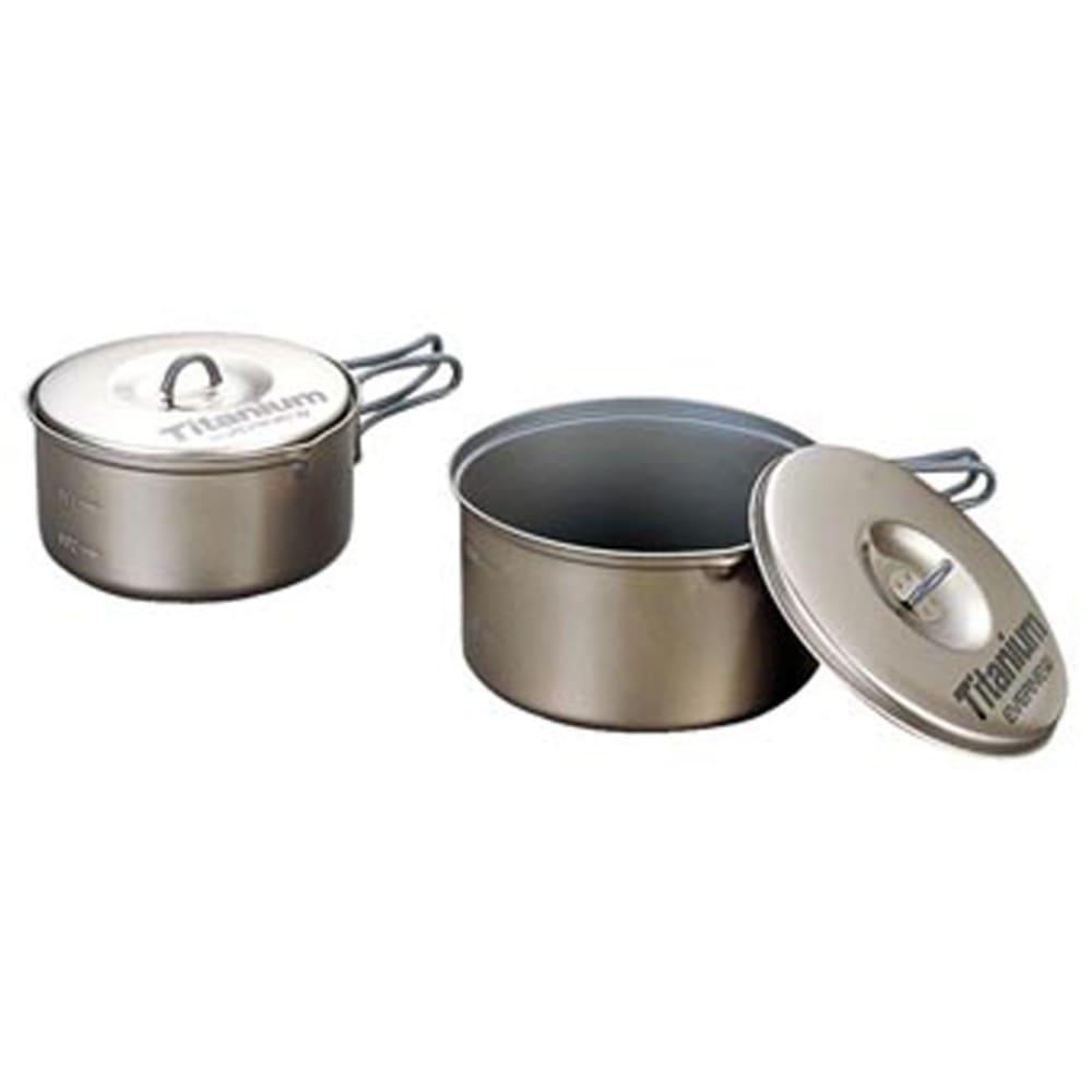 EVERNEW Titanium Non-Stick Medium Pot Set - NO COLOR