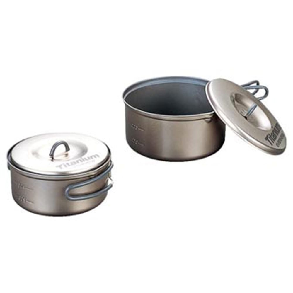 EVERNEW Titanium Non-Stick Small Pot Set S