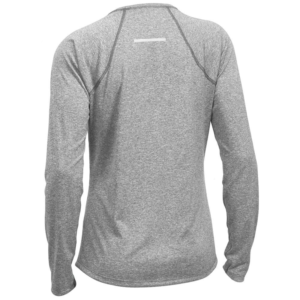 EMS® Women's Techwick® Essence Long-Sleeve Shirt - NEUTRAL GREY HTR